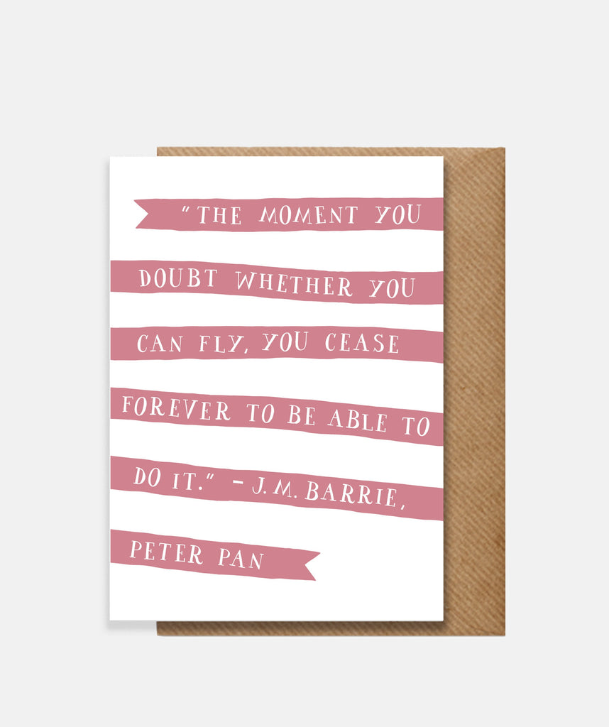 Peter Pan Card