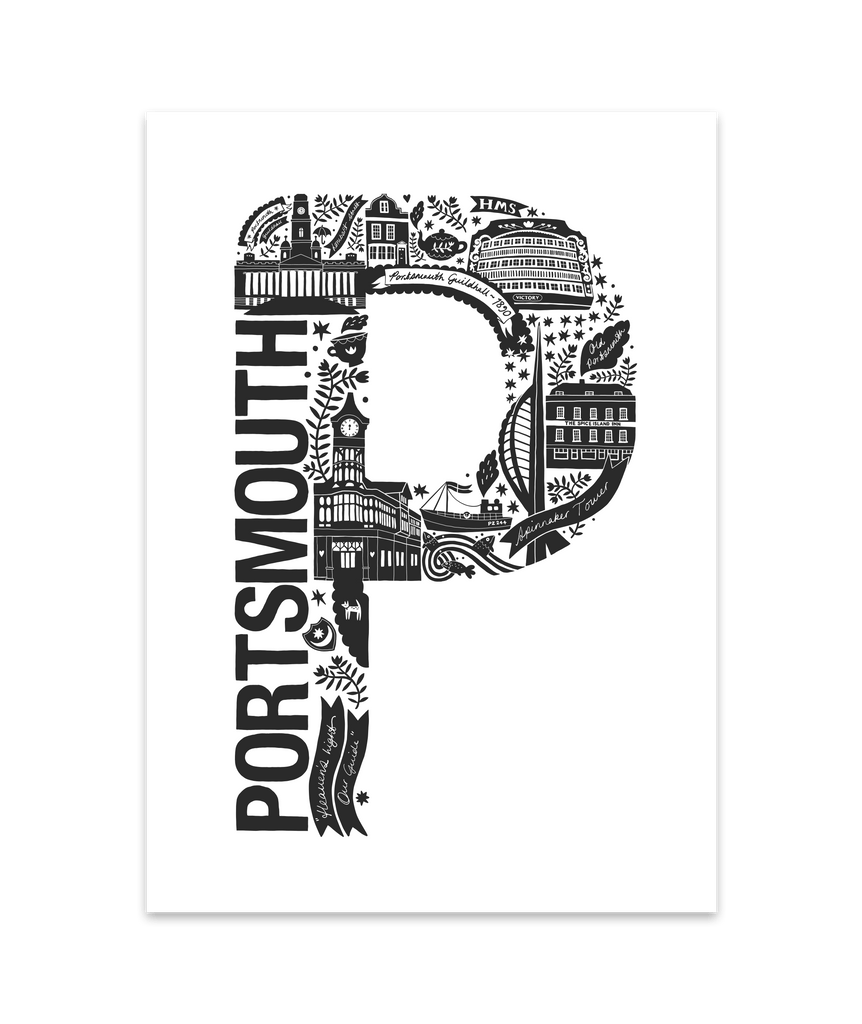 Portsmouth Screen Print (Discontinued)