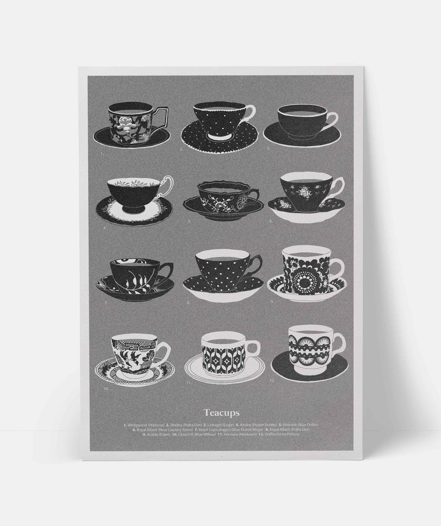 Teacups - The Collective Press