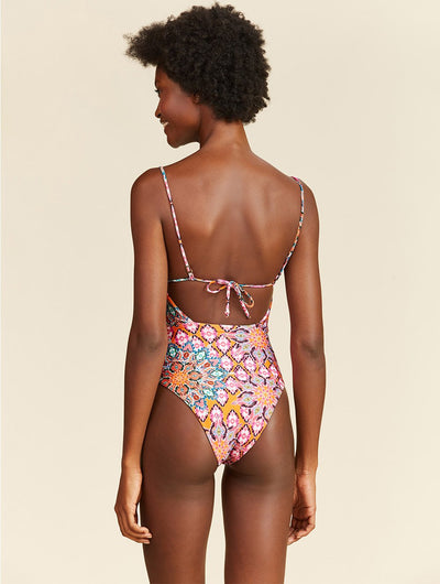 Ladakh Ruffled One Piece Swimsuit