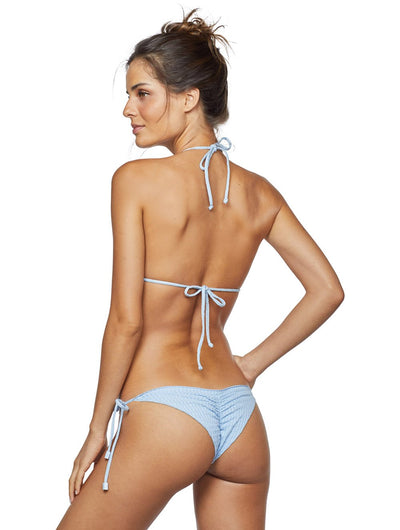 Embu Ruffled Triangle Tie Side Bikini
