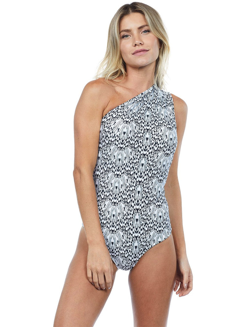 Rivas One Shoulder One Piece
