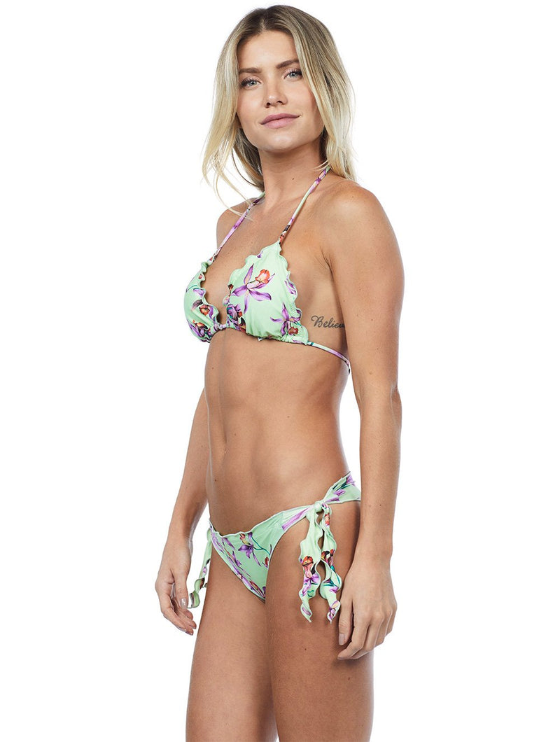 St. Barth Ruffled Triangle Bikini