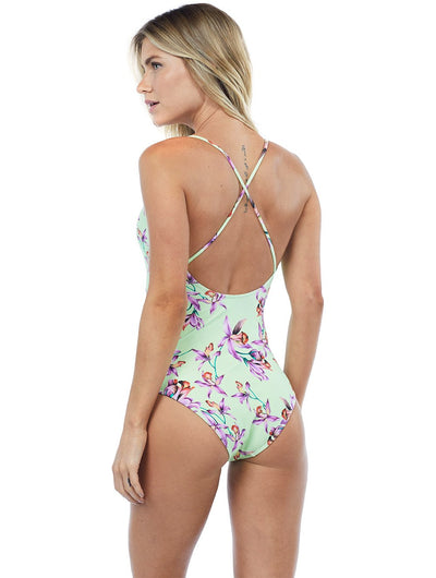 St. Barth Cross Strap One Piece