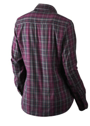 Pilton Lady shirt Raisin check