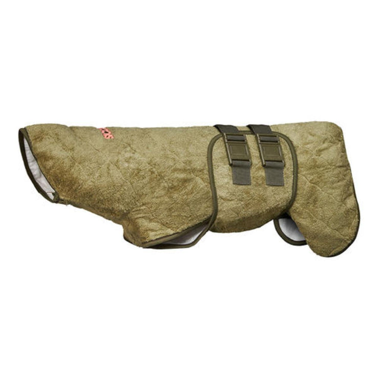 Supreme Pro Dog Drying Robe Olive
