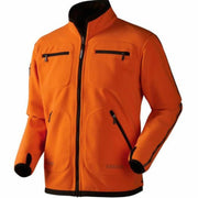Kamko fleece Hunting green Orange blaze