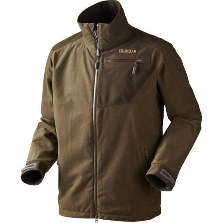 Tuning jacket Hunting green Shadow brown