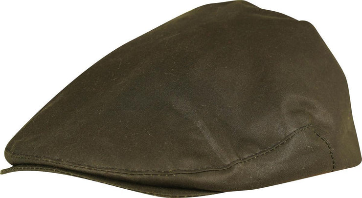 Wax Flat Cap Green