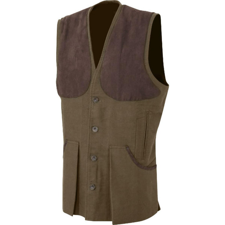 Moleskin Vest Brown