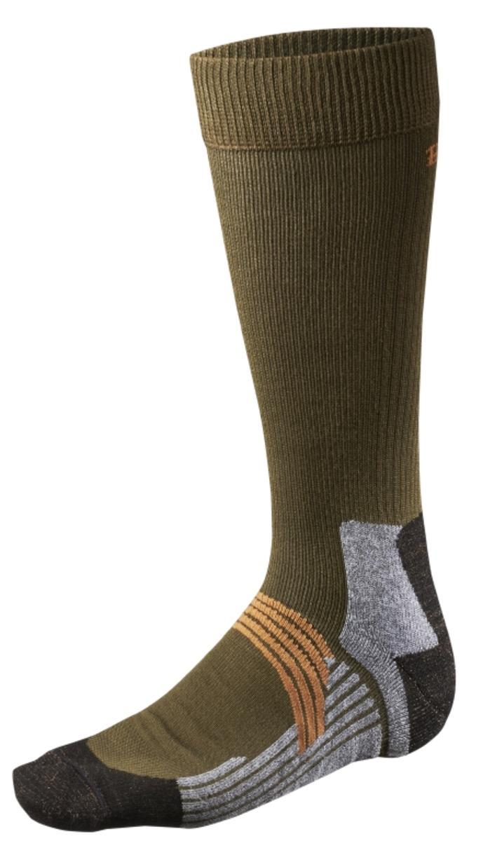 Trapper Master midweight sock Dark green