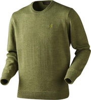 Reading round neck jersey Cypress melange