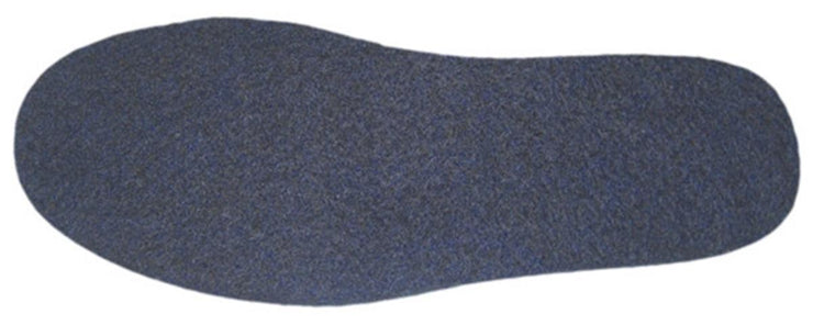 Wool Felt insole 8mm Navy