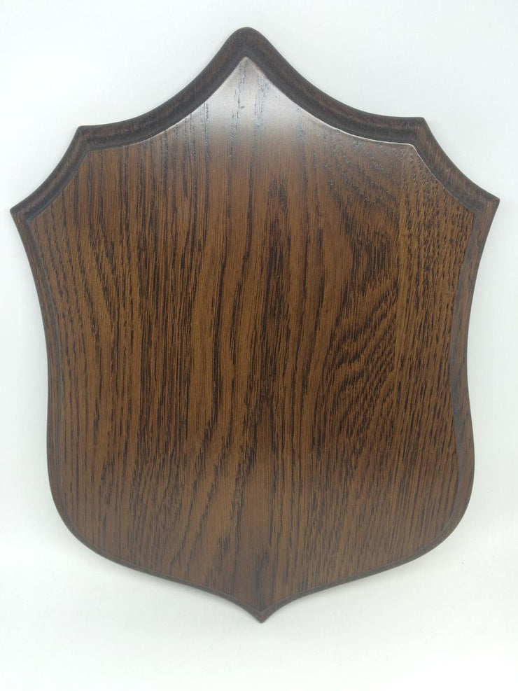 Solid Oak Roe Shoulder Mount Shield