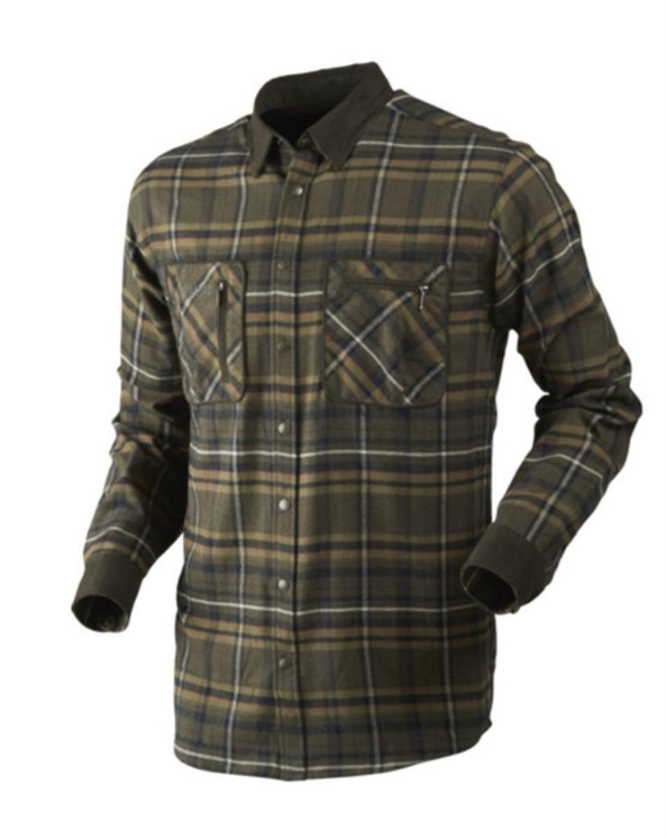 Pajala shirt Willow green check