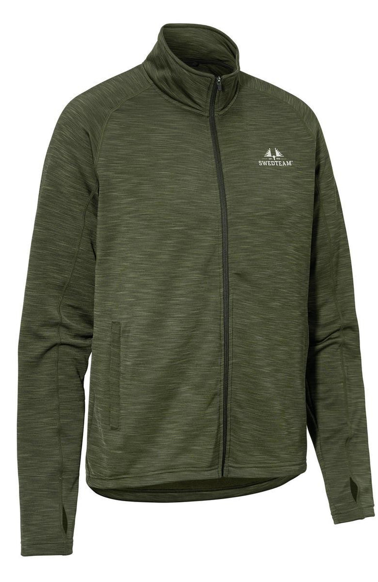 Ultra Light M Sweater Full zip Green