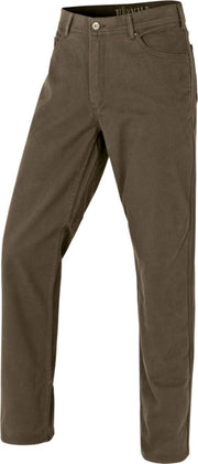 Hallberg 5 pocket trousers Brown