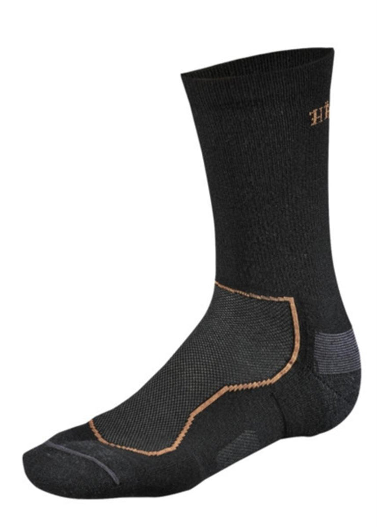 All season wool II sock Black