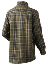 Edwin Kids shirt Shaded olive check