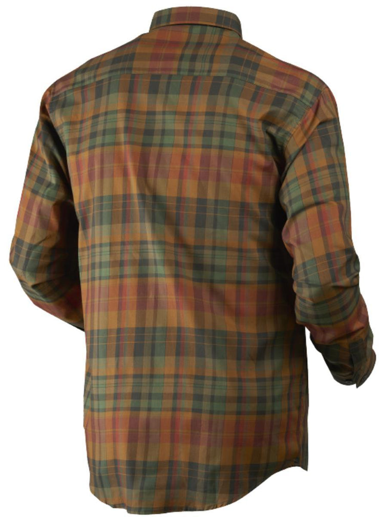 Newton L S shirt Spice check