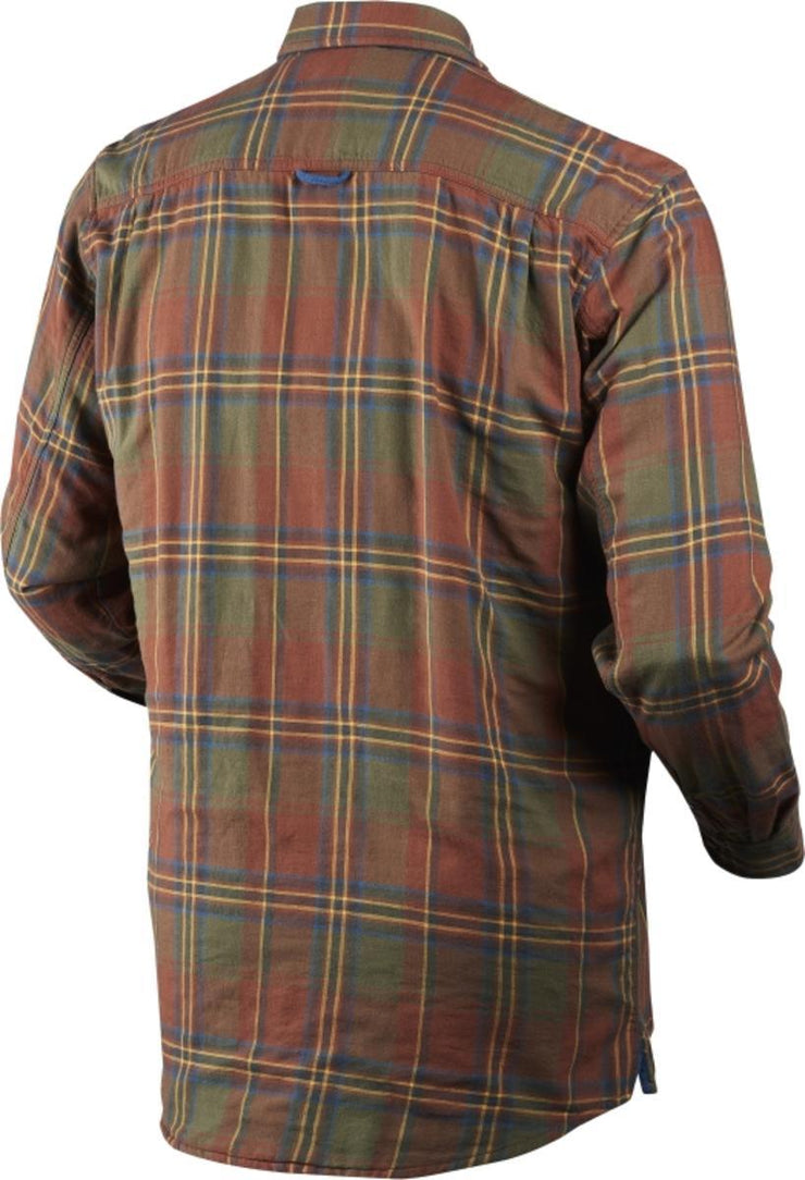 Nolan shirt Sequoia rust check