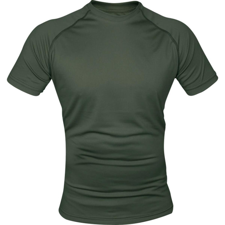 Mesh tech T Shirt Green