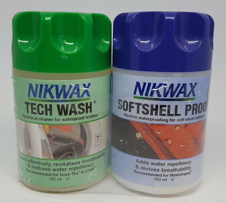 Softshell Proof and Tech Wash Wash In Twin Pack