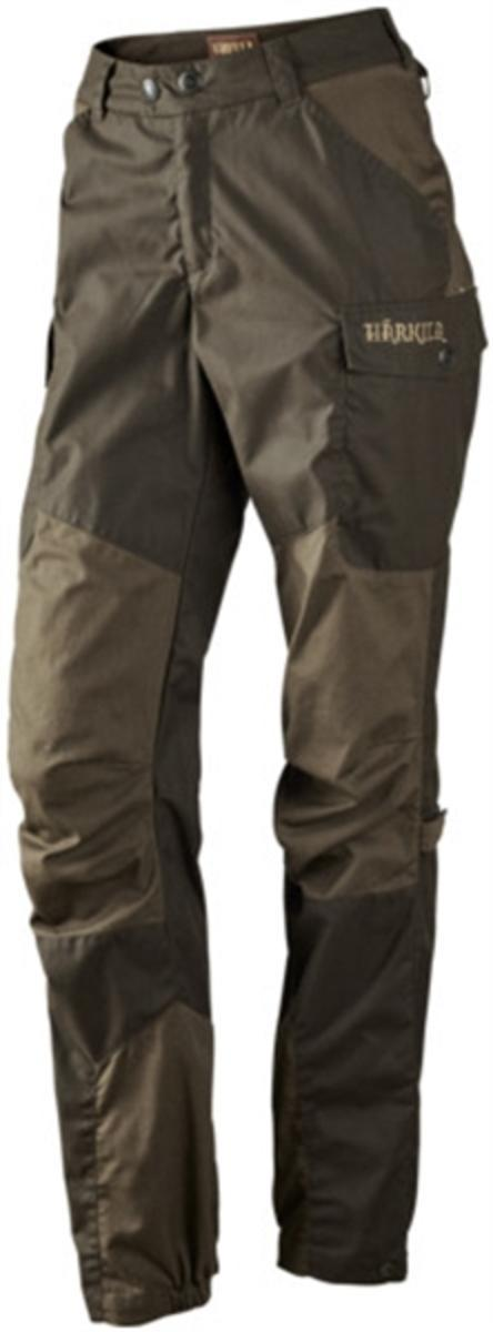 Dagny Lady trousers Shadow brown Hunting green