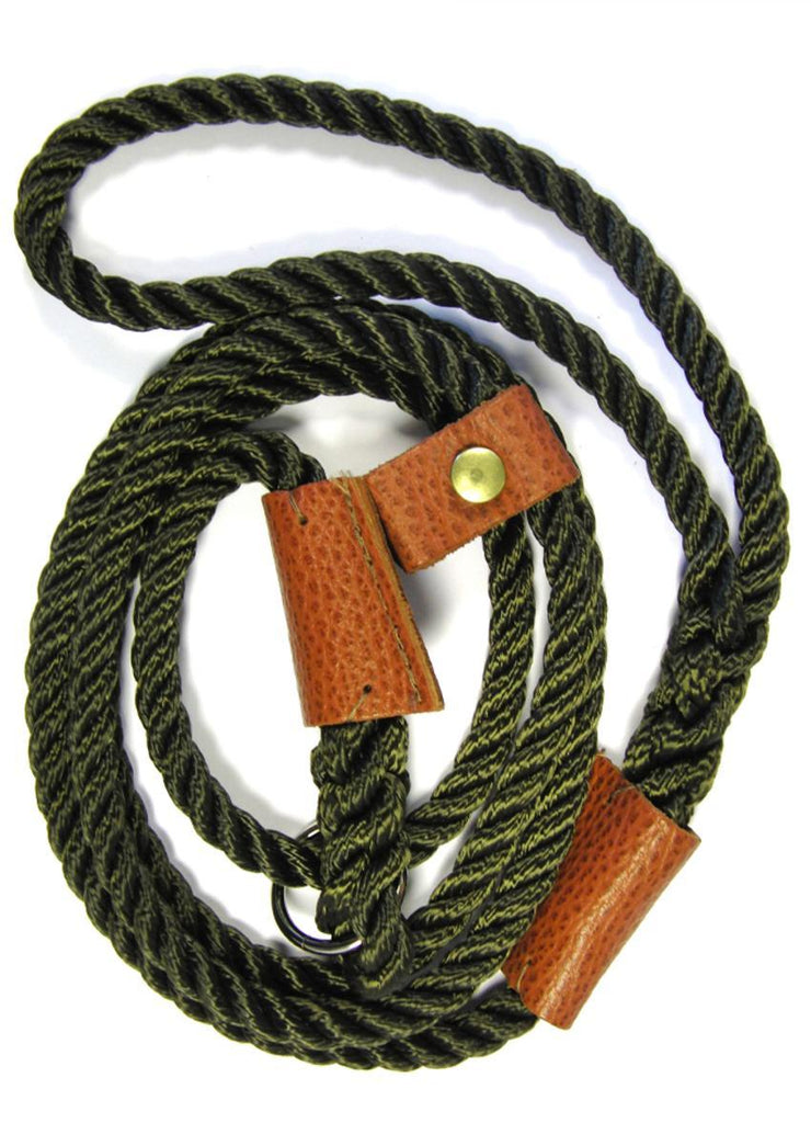 Green Countryman Deluxe Slip Lead (1.5m)