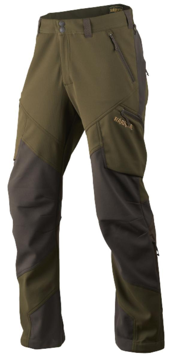 Lagan trousers Willow green Deep brown