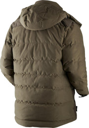 Expedition down jacket Hunting green Shadow brown