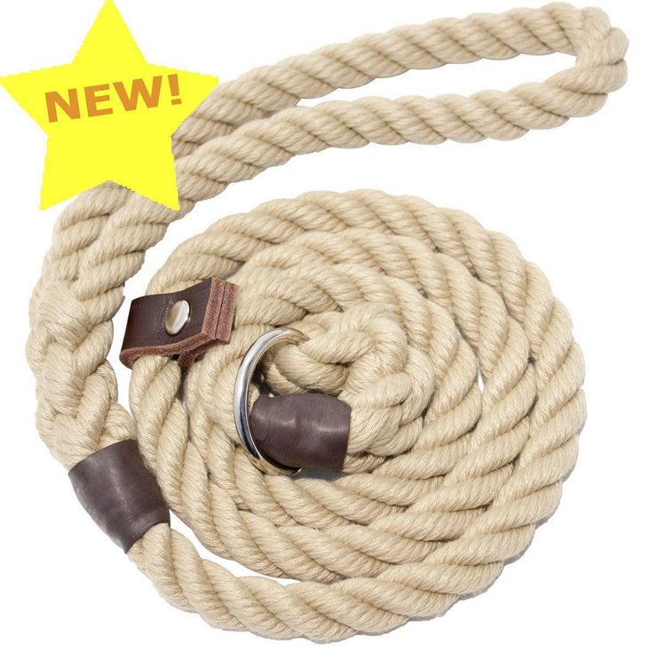 Dog Lead Natural Rope