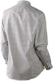 Lancaster Lady L S shirt Blackberry check