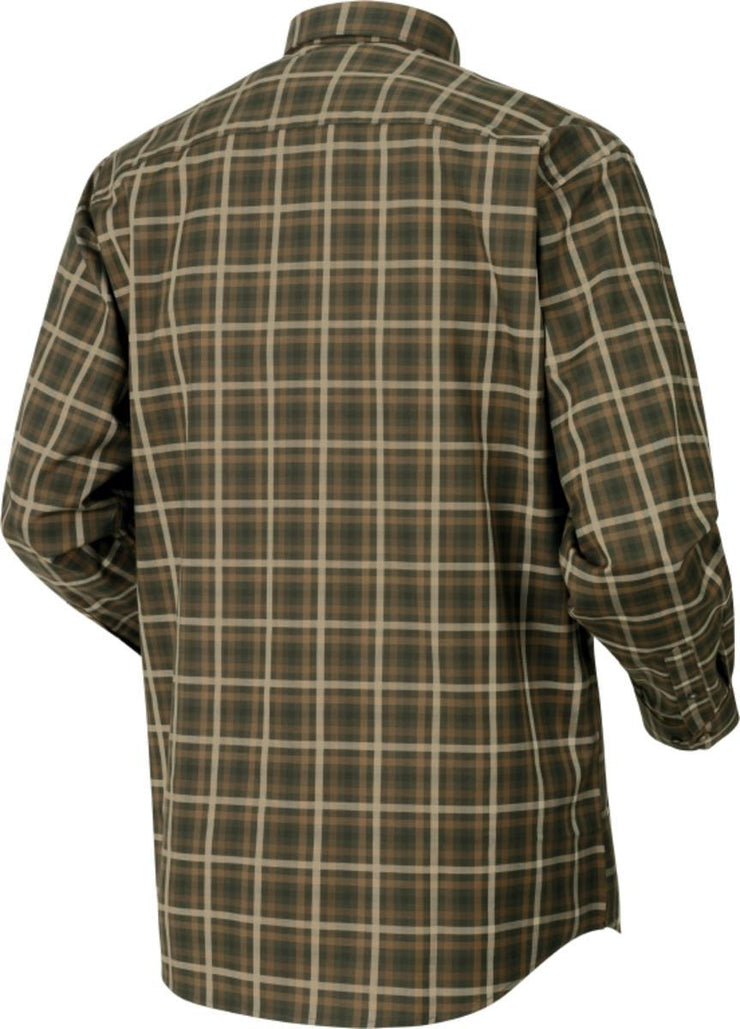 Milford shirt Willow green check