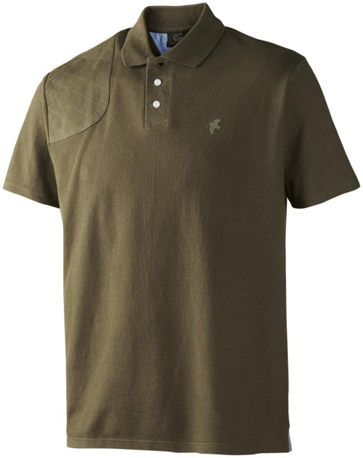 Polo shirt Pine green