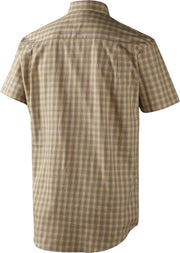 River Shirt Antique Gold Check