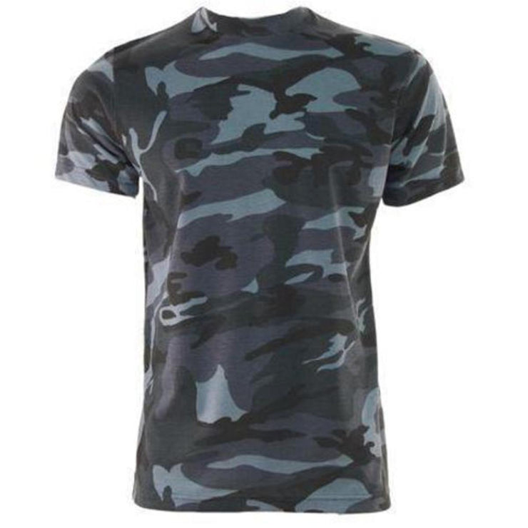 Camouflage T Shirt Midnight