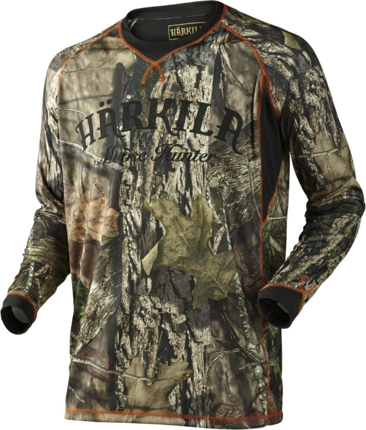 Moose Hunter L S t shirt MossyOak Break up Country