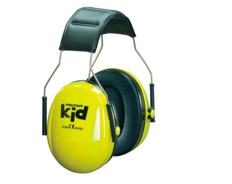 Kid Neon Yellow Hearing Protection