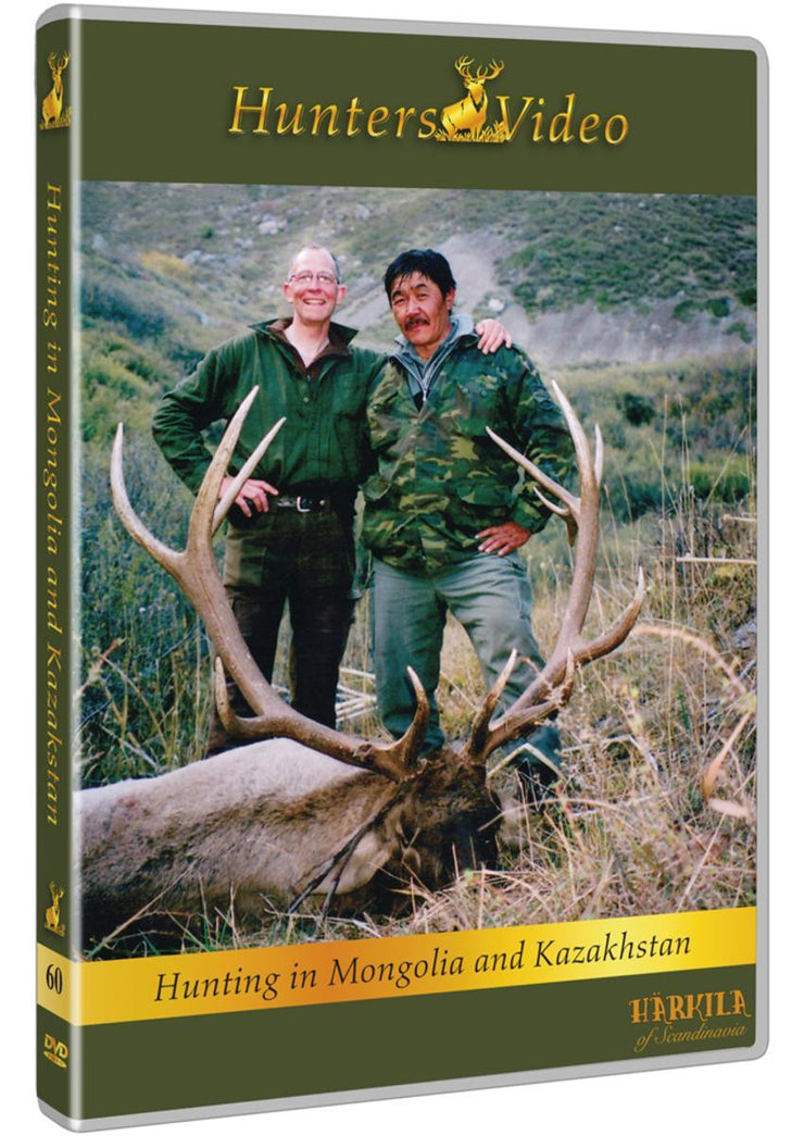 DVD Hunting in Kazakhstan and Mongolia DVD multi language