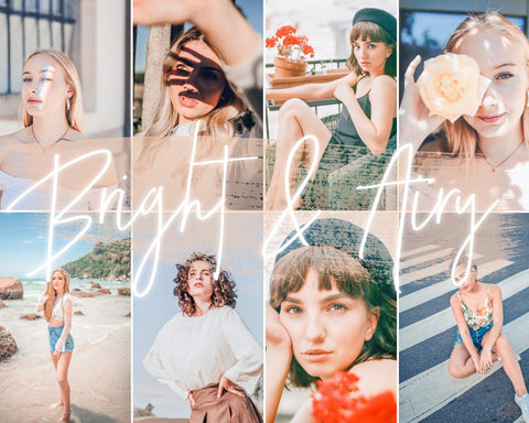 BRIGHT & AIRY - 21presets®