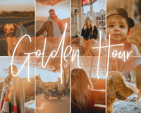 *NEW* GOLDEN HOUR Presets 21presets®