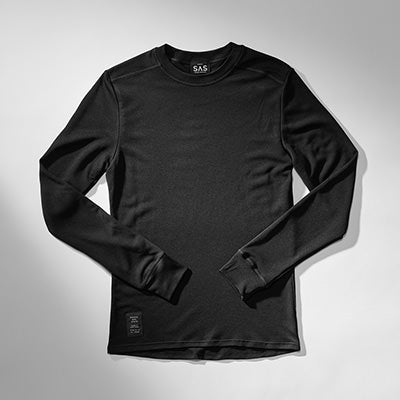 Thermal Merino Base Layer – Black