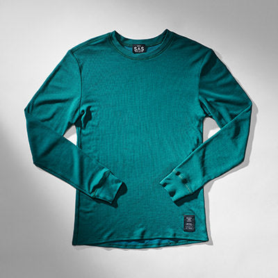 Thermal Merino Base Layer – Deep Teal