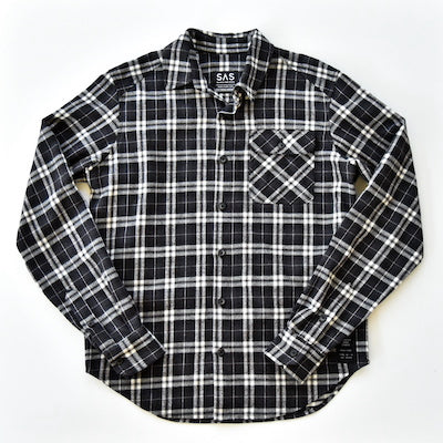 Brushed Flannel – Black