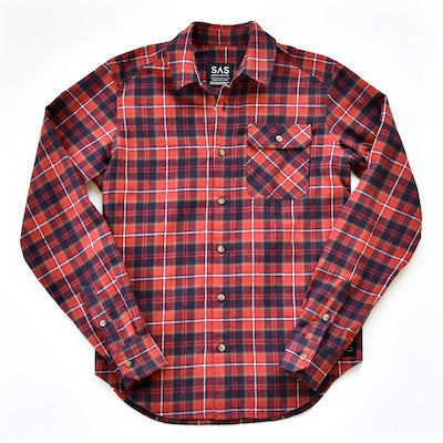 Brushed Flannel – Red