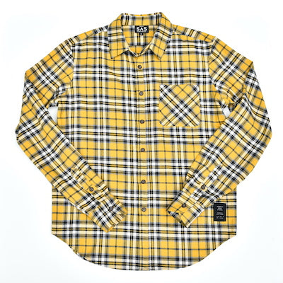 Midweight Flannel – Vibrant Yellow