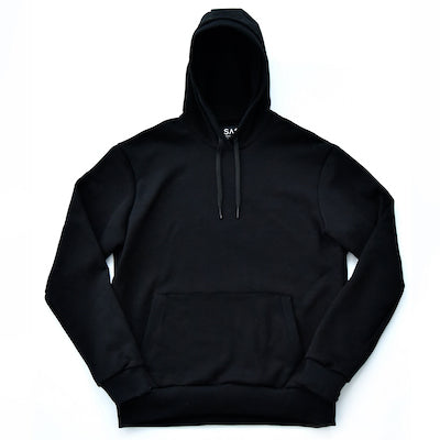 Pullover Hooded Sweatshirt – Black
