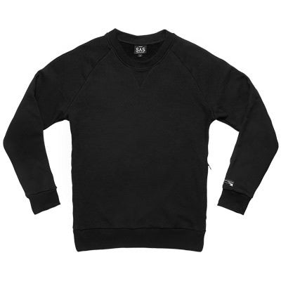 CS-1 Pullover Crewneck – Black