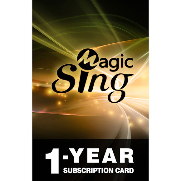 MagicSing Subscription Code · 220,000+ English & International Songs · Tagalog · Korean · Hindi · Vietnamese & More!